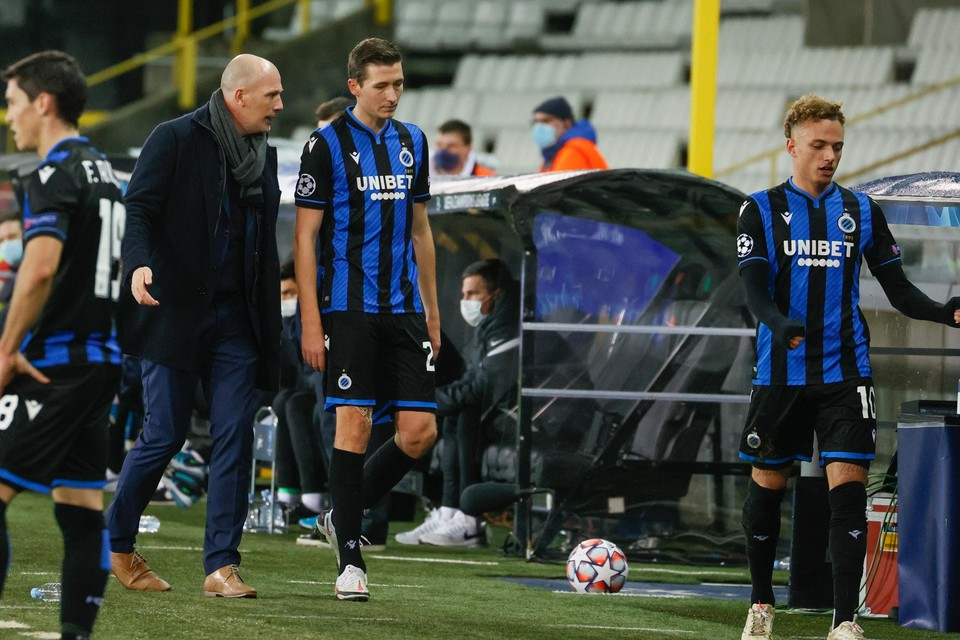 Hans Vanaken en Noa Lang trainen na de interne coronatesting opnieuw mee bij Club Brugge.
