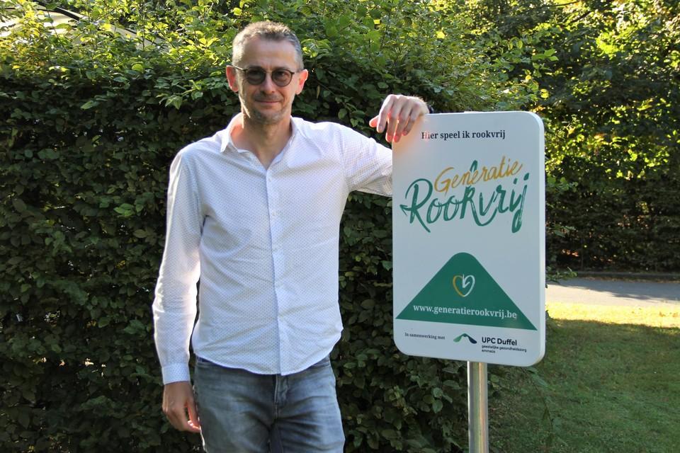 Directeur Ronald Geeroms.