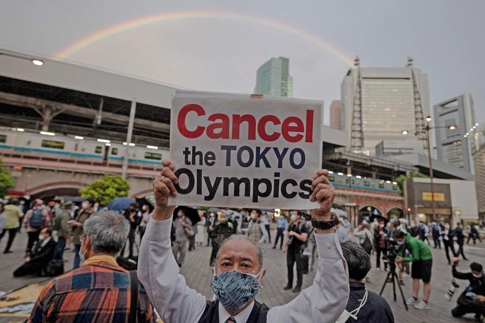 Meer dan 80% van de Japanners is tegen de Spelen.