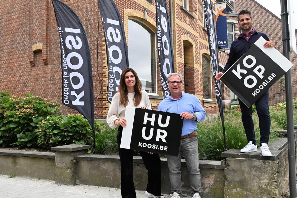 Joëlle Nauwelaerts, Ingmar Bastien en Stef De Schutter van
