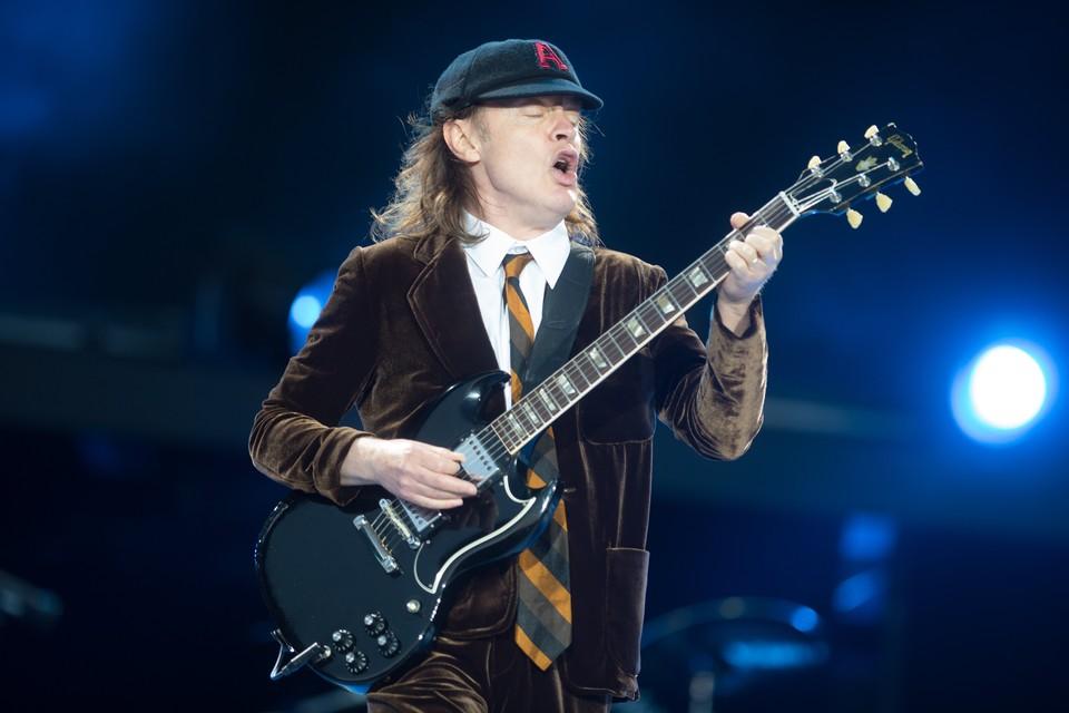 AC/DC in 2015 in Dessel.