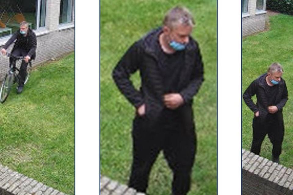 De politie verspreidde beelden van de verdachte van de inbraak bij het CLB in Turnhout.