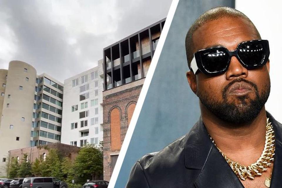 Kanye West zou verblijven In een van deze luxueuze lofts op de Kanaal-site in Wijnegem.