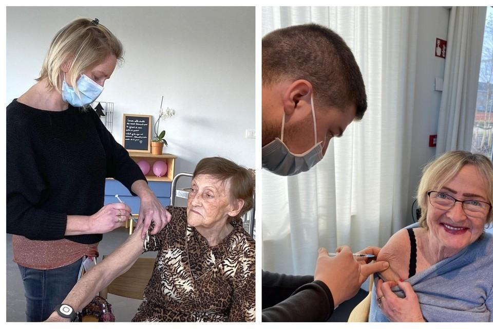 De bewoners van Klein Veldekens werden vorige week al gevaccineerd.
