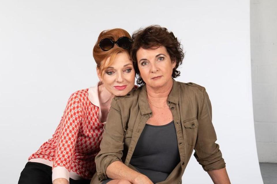 Marleen Merckx en Anne-Mieke Ruyten