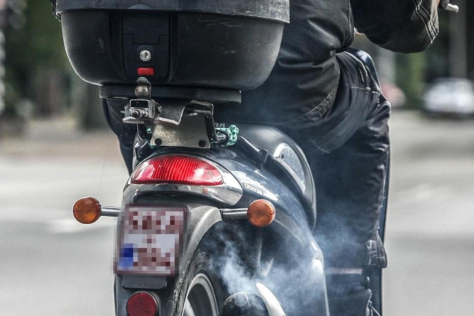 In Antwerpen bezit 8% van de gezinnen minstens een moto of bromfiets.