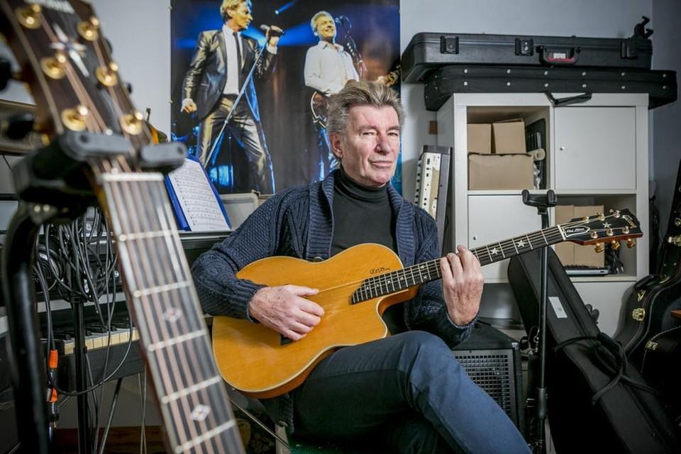Ook Heistenaar Paul Michiels zal met een livestream het beste van zichzelf geven tijdens de Week van de Belgische muziek.