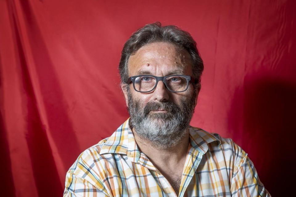 Portret van Marc Peeters.