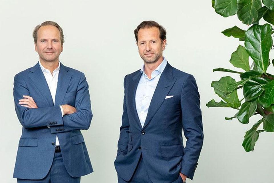 Oprichters Stéphane Mercier (links) en Thomas Vanderlinden.