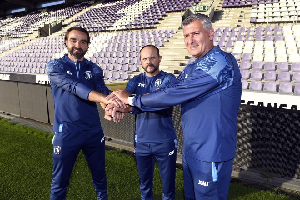 Frank Magerman, Javier Torrente en Greg Vanderidt.