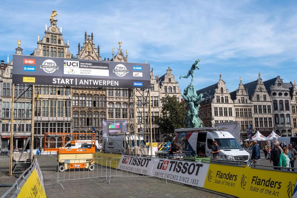 Hier begint het allemaal: De Antwerpse Grote Markt