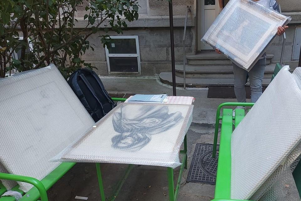 Deze werken werden begin maart gestolen bij een inbraak in een opslagplaats van een kunstverzamelaar op Linkeroever.