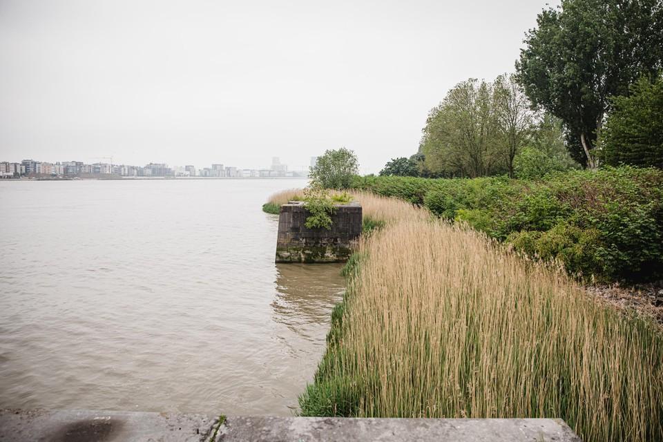 Het Masterplan voorziet in een herinrichting over zes kilometer Scheldeboord op Linkeroever.