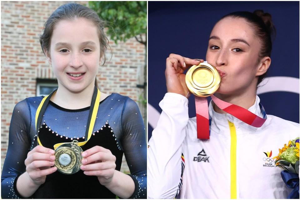 2010: de 10-jarige Nina haalt voor het eerst de krant als Limburgs en Vlaams kampioen.