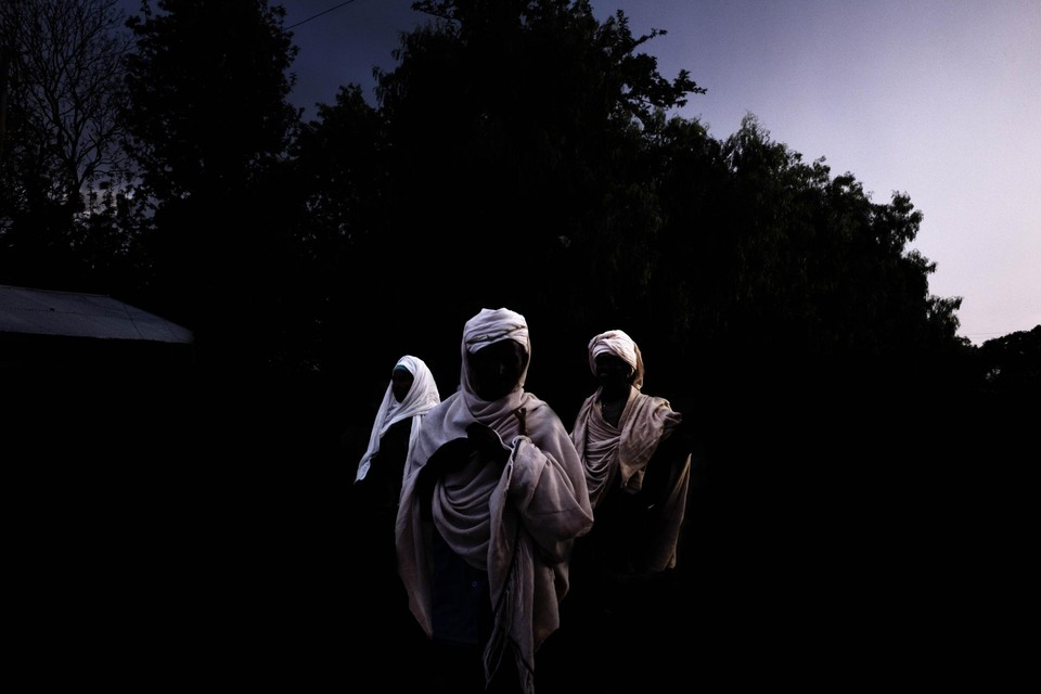 Drie toevallige passanten die Robberecht fotografeerde, worden nu sleutelfiguren in zijn eerste langspeelfilm
