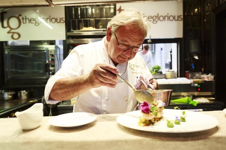 Chef Johan Van Raes