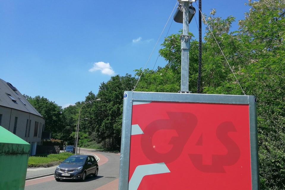 De slimme camera's zoals hier in de Ekelstraat blijven nog tot het eind van de maand staan.