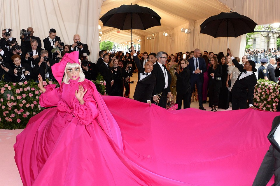 Lady Gaga op het Met Gala in 2019