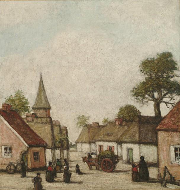 'Het Gehucht' werd door zowel door kenners als het grote publiek verkozen tot het beste werk van Smits.
