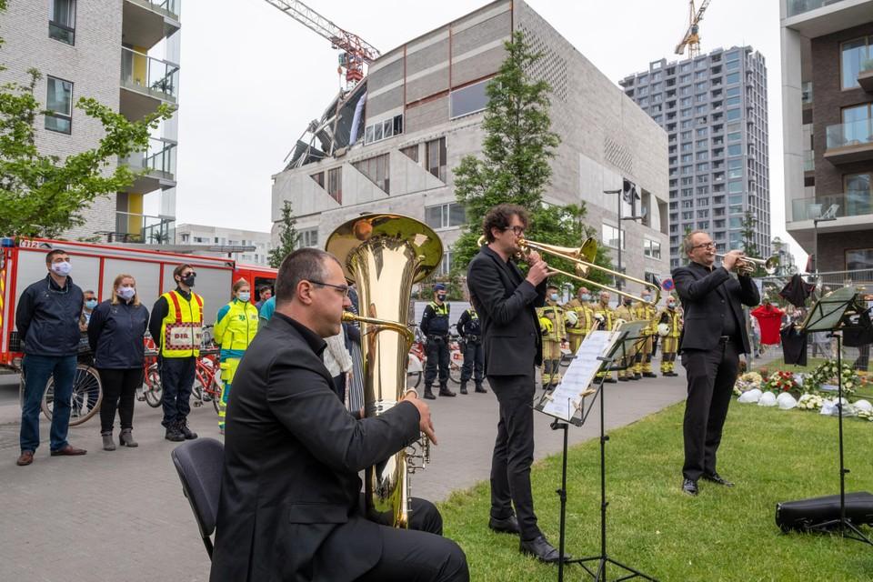 Muzikanten van het Antwerp Symphony Orchestra