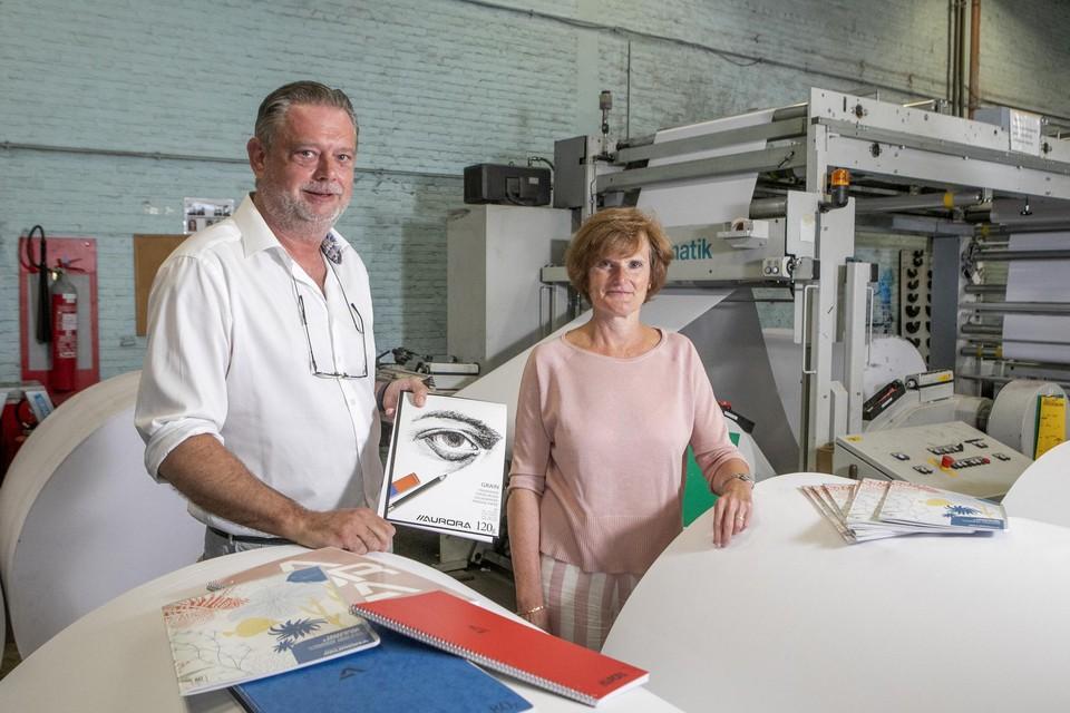 Patrick Peeters en Kathleen Huybreckx.