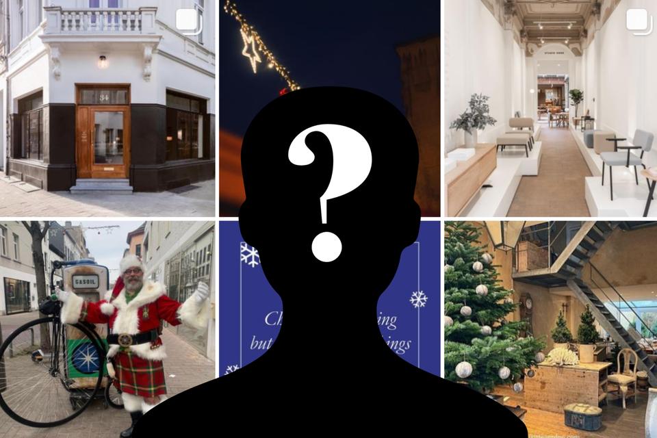 Alle winkels uit de Antwerpse Kloosterstraat zijn vertegenwoordigd op Instagram