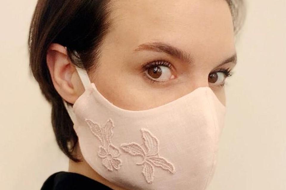 Elegant mondmasker - Eva Janssens - 35 euro