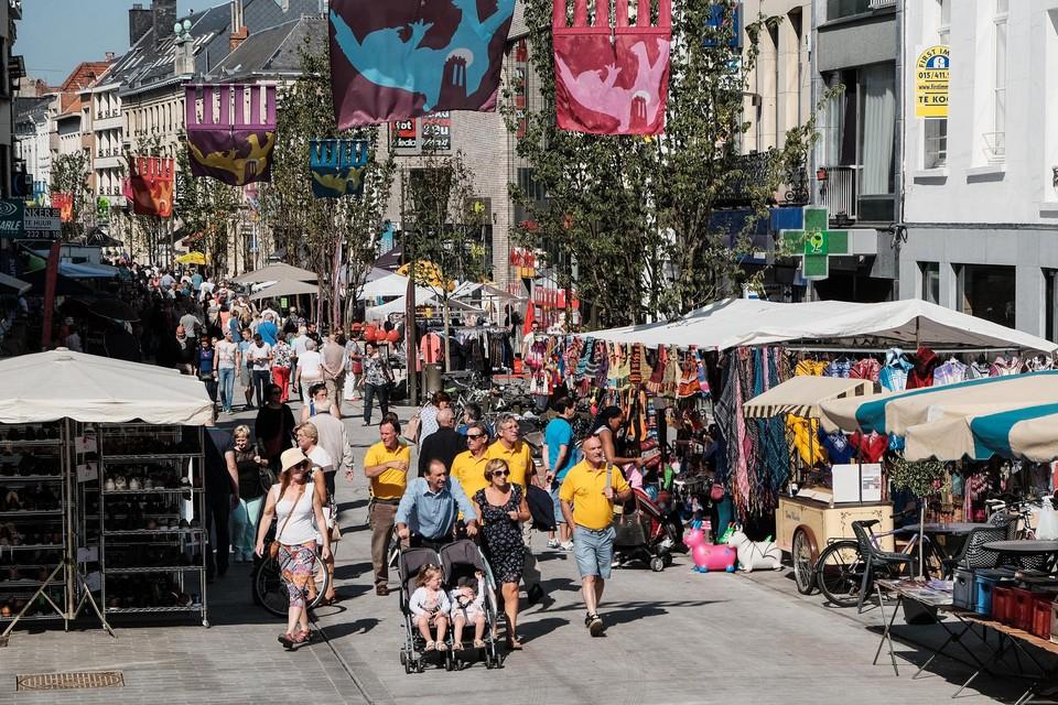 Vanaf donderdag vindt in de Mechelse binnenstad de Zomerbraderie plaats.