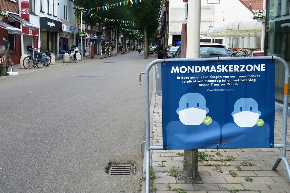 De Paalstraat maakt zich op voor de 'opendeurdagen tijdens het laatste weekend van juni. Tegen die tijd zal de nu nog geldende mondmaskerplicht wellicht worden afgeschaft.