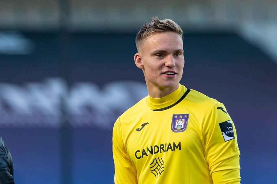 Bart Verbruggen zal opnieuw onder lat staan bij Anderlecht.