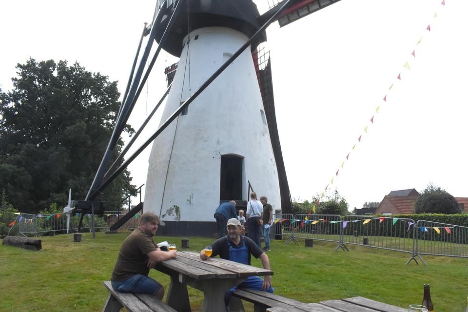 Open dag molen Ezaart.
