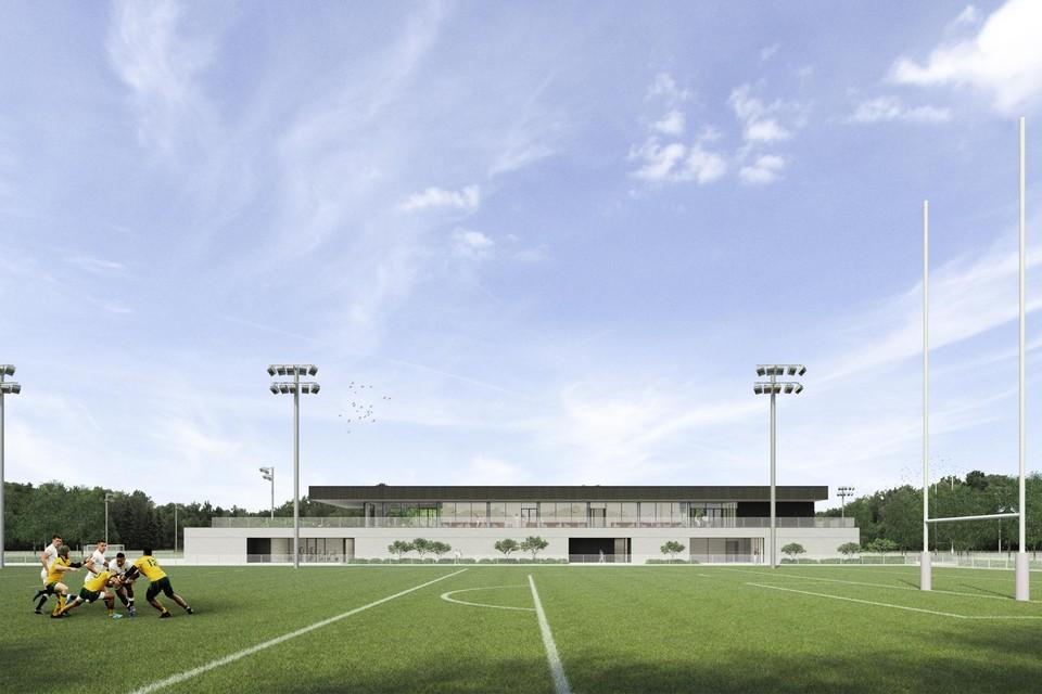 Een impressie van het toekomstige centrale hoofdgebouw.