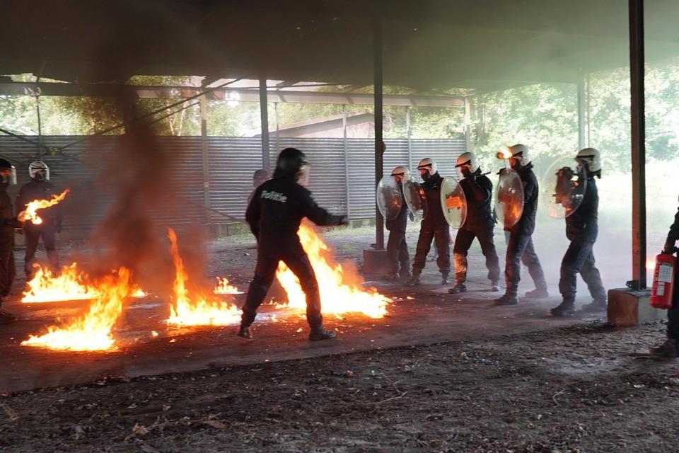 De politie gebruikt domein Westakkers nu voor oefeningen. Keren de militairen binnenkort terug?