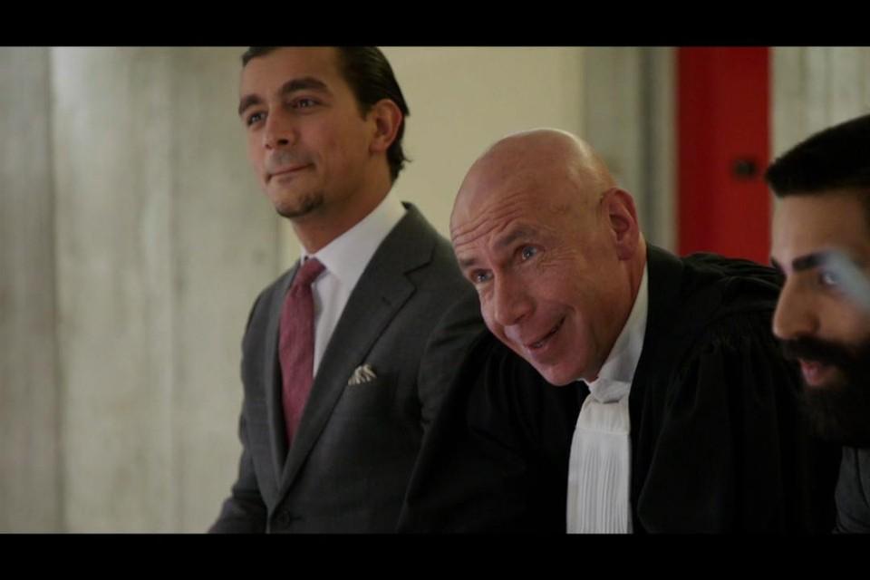 Pol Vandemeulebroucke (midden): ster van een televisieprogramma, maar wel veroordeeld tot achttien maanden cel.