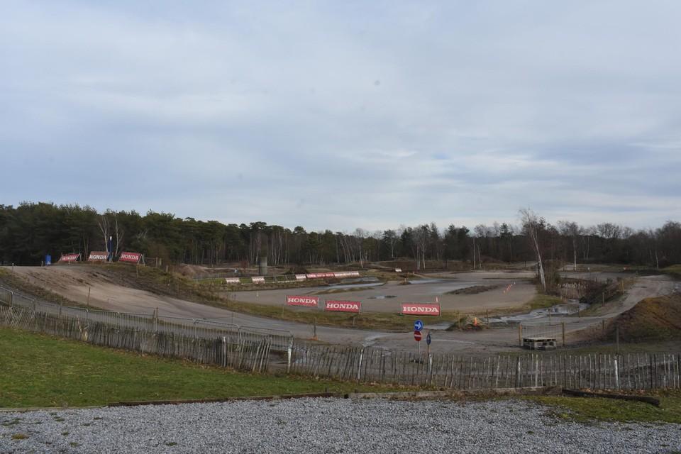 Het Hondapark in Olmen is een van de weinige permanente terreinen in Vlaanderen.