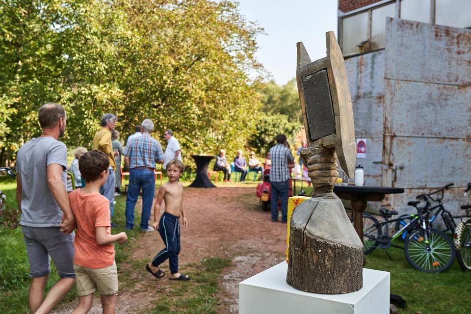 Kunst en verwijzingen naar het erfgoed gaan op Noeveren Brandt! hand in hand