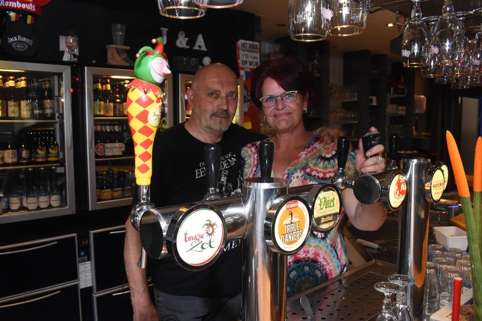 Uitbaters Alan Claes en Jacqueline Molegraaf van het Miloheem.