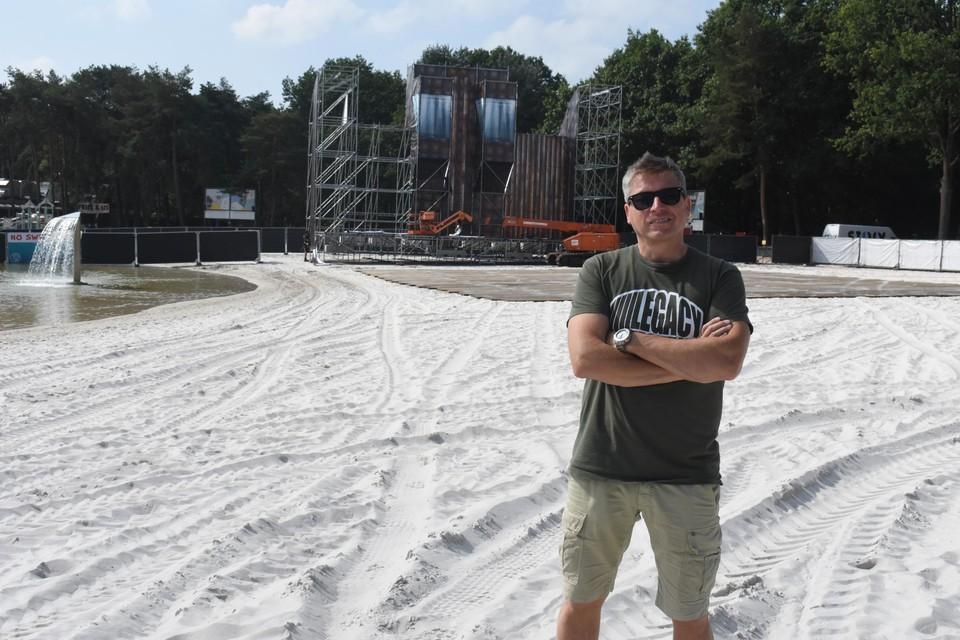 Organisator Nic Keirsmaekers van Legacy Festival.