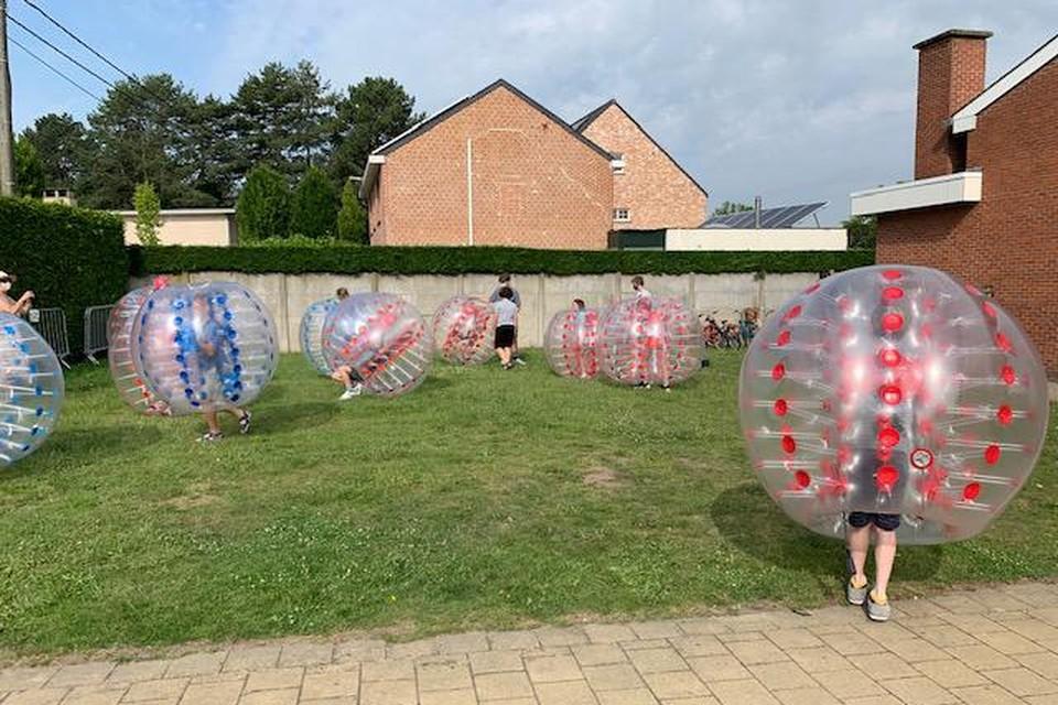 Iedereen bleef netjes binnen de bubbels.