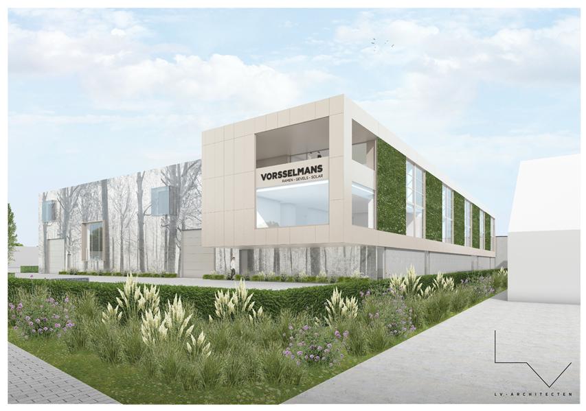 LV architecten ontwierp de nieuwe aanbouw van Vorsselmans in Loenhout.