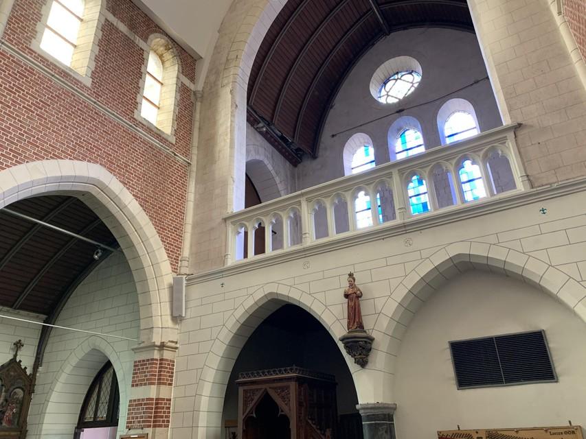 De kerk biedt heel wat mogelijkheden bij de herinrichting.
