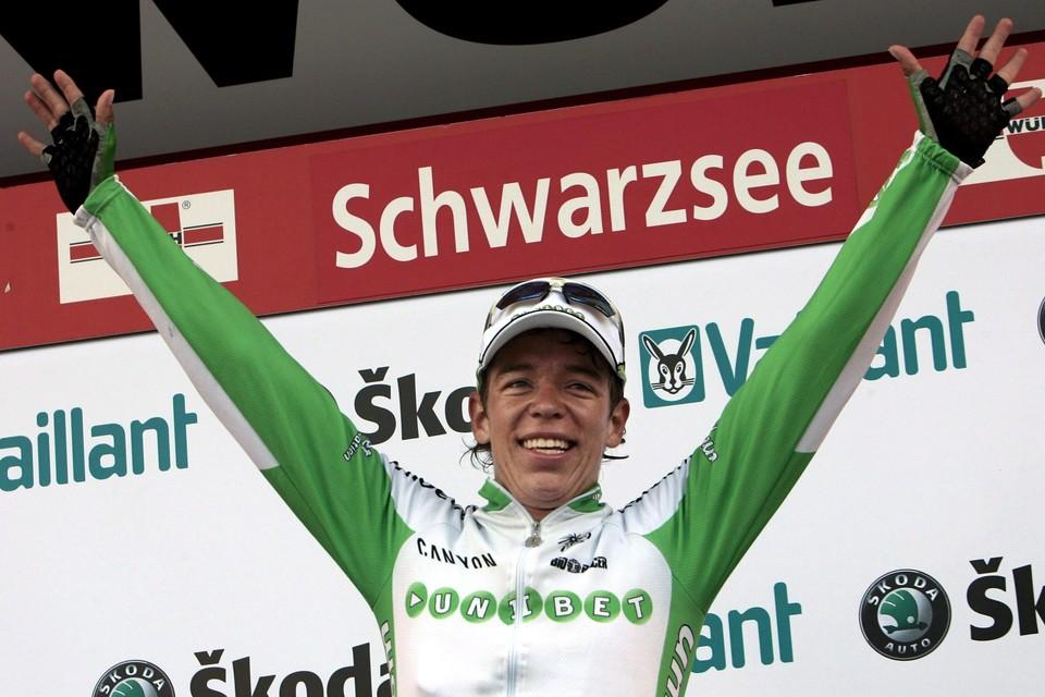 In 2007 breekt de Colombiaan helemaal door wanneer hij een rit wint in de Ronde van Zwitserland.