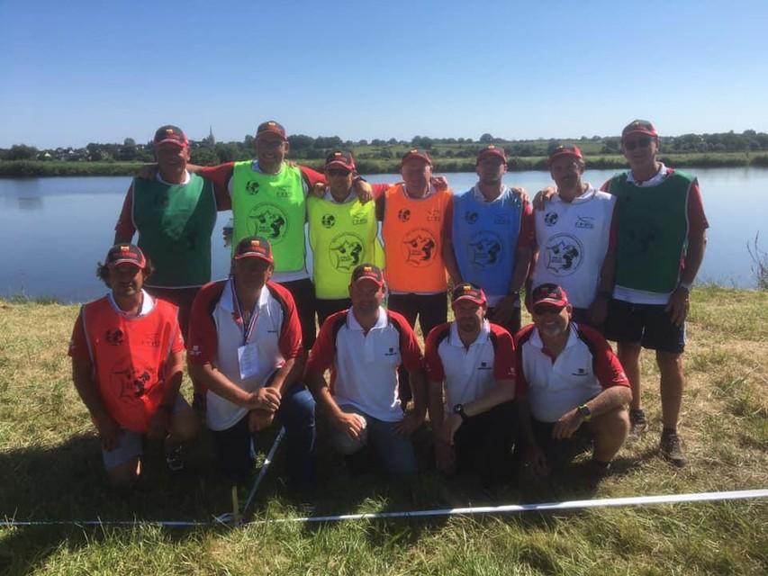 De wereldkampioenen feederfishing uit België.