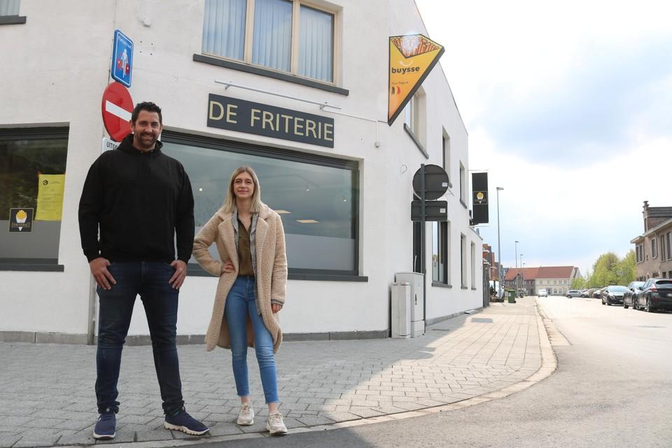 Steven Vanwynsberghe opent vrijdag, samen met Kitty Van Leuven, de gloednieuwe frituur 'De Friterie'.
