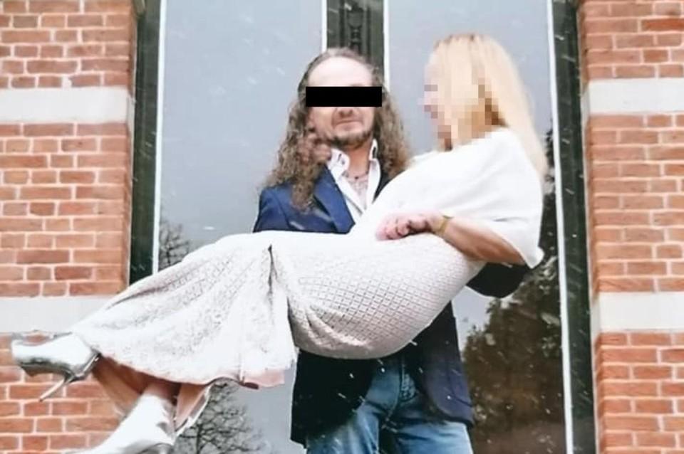 Danny S. met zijn echtgenote Susy Mans uit Nijlen. Hij zou ook haar hebben mishandeld.