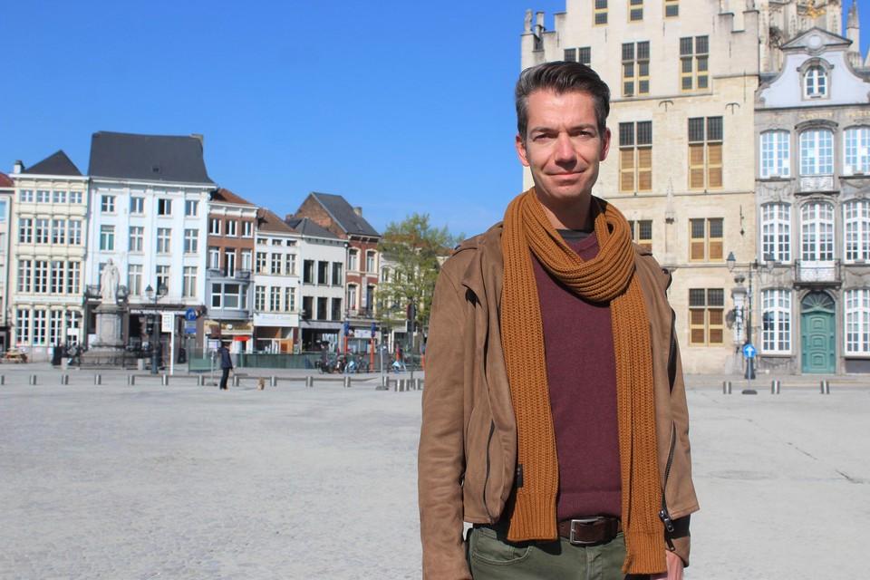 Pieter Himpe wil via zijn website zo veel mogelijk mensen Mechelen laten ontdekken.