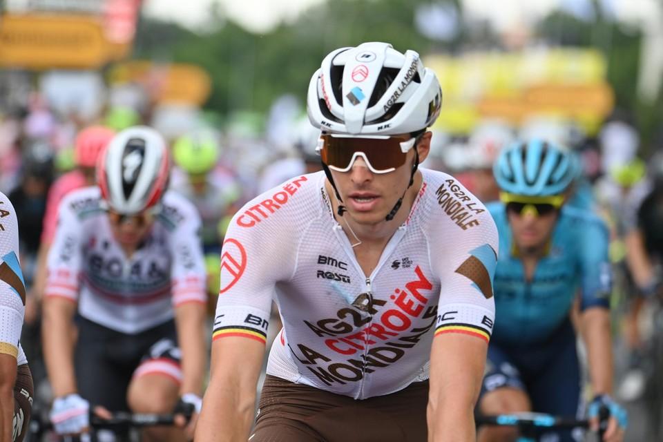 """Naesen beleefde een anonieme Tour: """"Door een bronchitis. Nadien kon ik een week niet fietsen."""""""