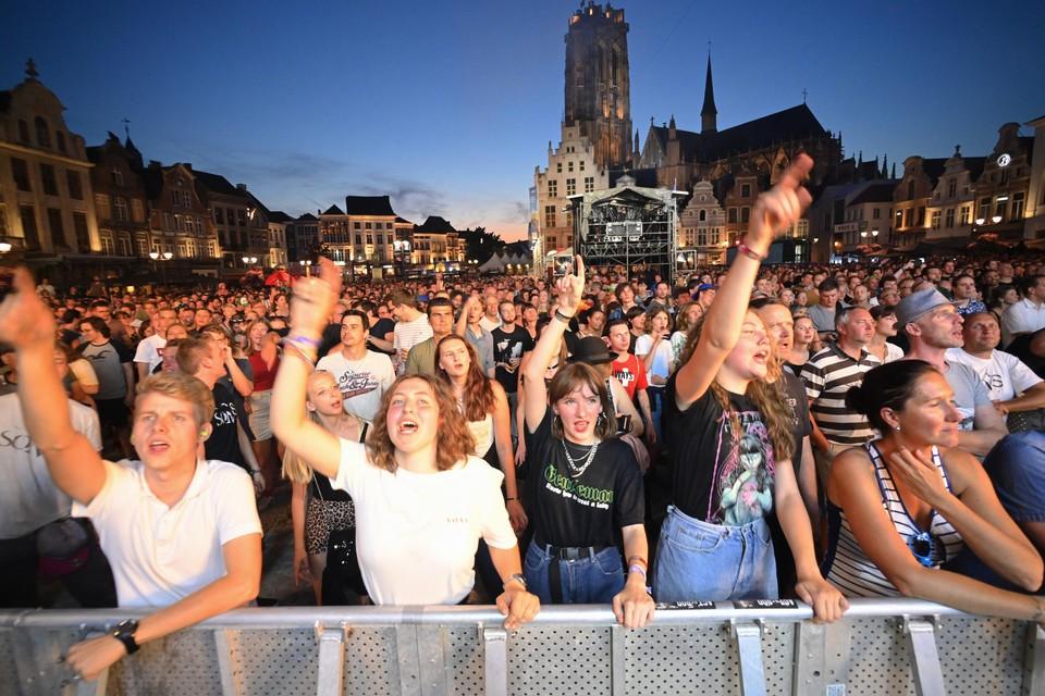 Een traditionele Maanrock kan nog niet, maar de capaciteit voor het volledige festival loopt toch al op tienduizend bezoekers.