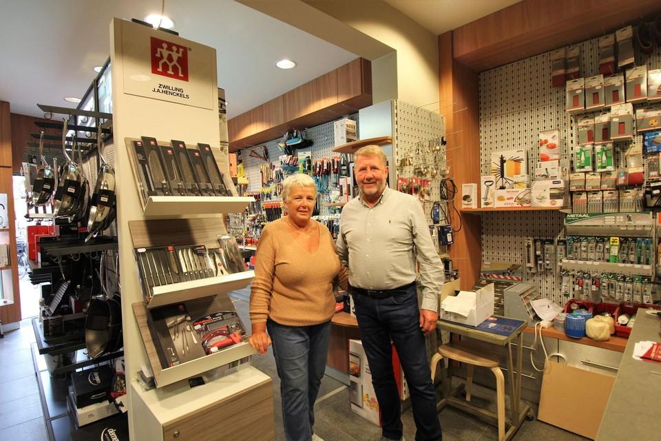 Ann en Marc houden hun uitverkoop van In de Pik.