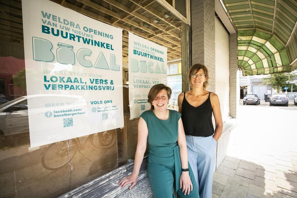 Lieve Bouwens en Joyce Van Hemelryk van Bocal.